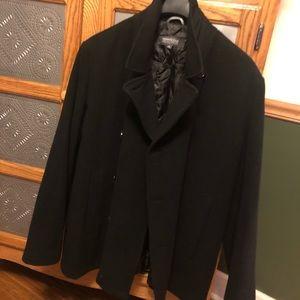 Kenneth Cole Pea Coat. Men's XL